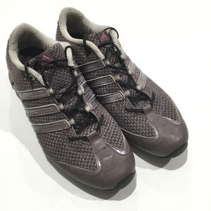 Adidas women's sz 8 running shoes 606001 lavender